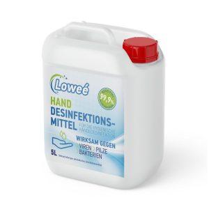 Loweé Desinfektionsmittel Hände 5 Liter Kanister